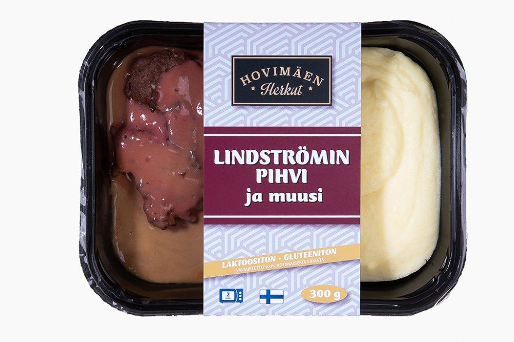 Lindströminpihvi ja perunamuusi 300g :